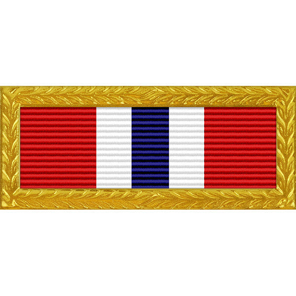 Iowa Outstanding Unit Award - Thin Ribbon (with Gold Frame)