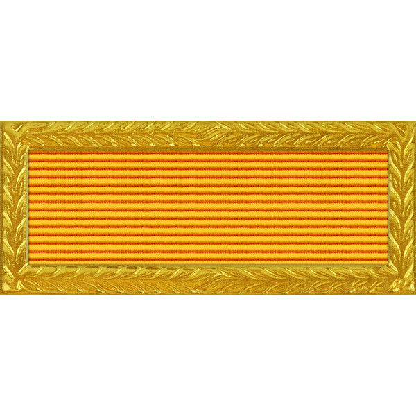 New Mexico National Guard Outstanding Unit Citation - Thin Ribbon (with Gold Frame)