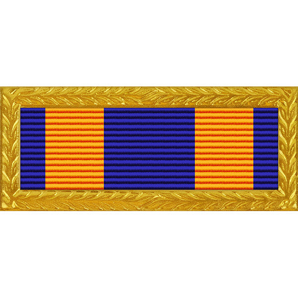 Oregon National Guard Superior Unit Thin Ribbon (with Gold Frame)