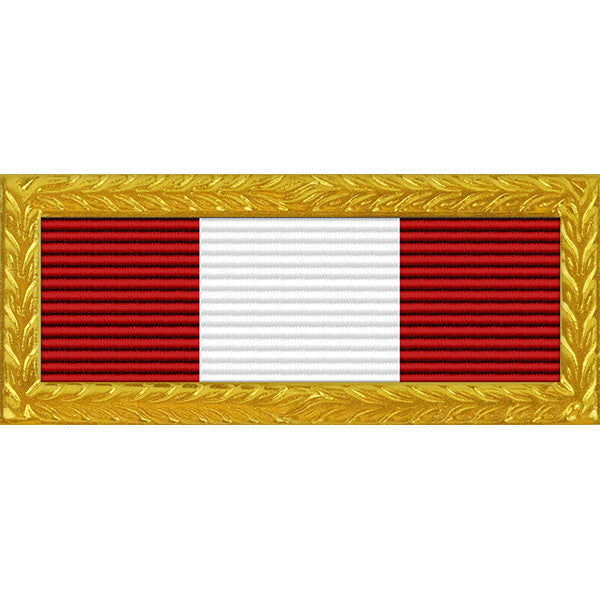 South Dakota National Guard Distinguished Unit Award - Thin Ribbon (with Gold Frame)