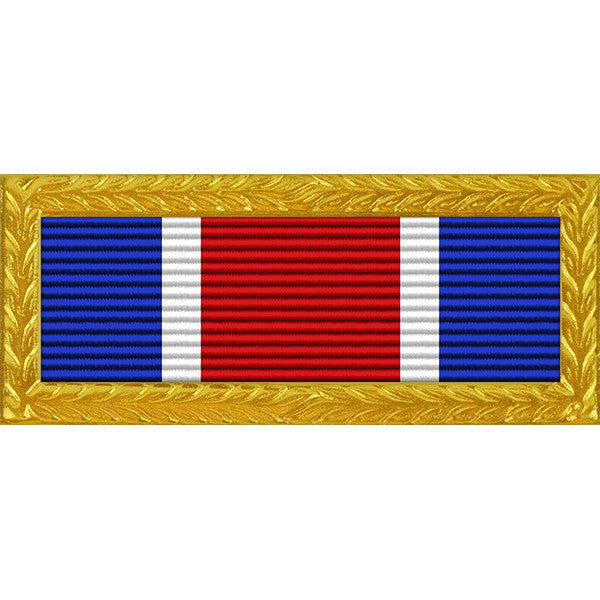 Texas National Guard Governor's Unit Citation Thin Ribbon (with Gold Frame)