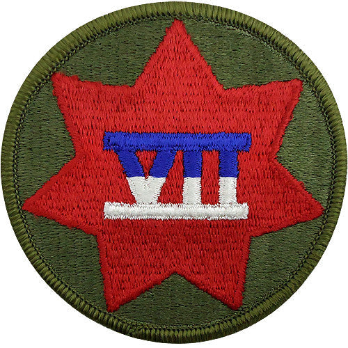 VII (7th) Corps Class A Patch