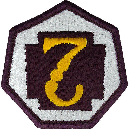 7th Medical Command Class A Patch