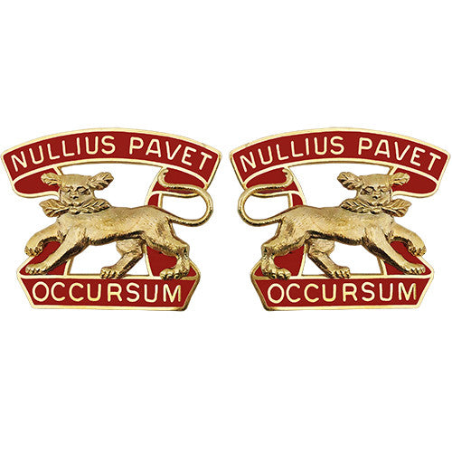 7th ADA (Air Defense Artillery) Unit Crest (Nullius Pavet Occursum)