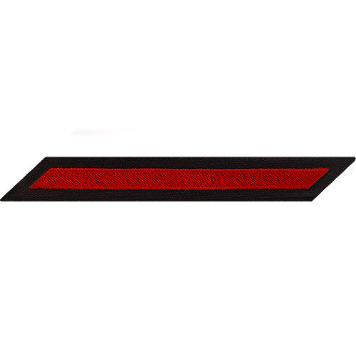 Enlisted Red on Blue Hashmarks / Service Stripes - Male Size