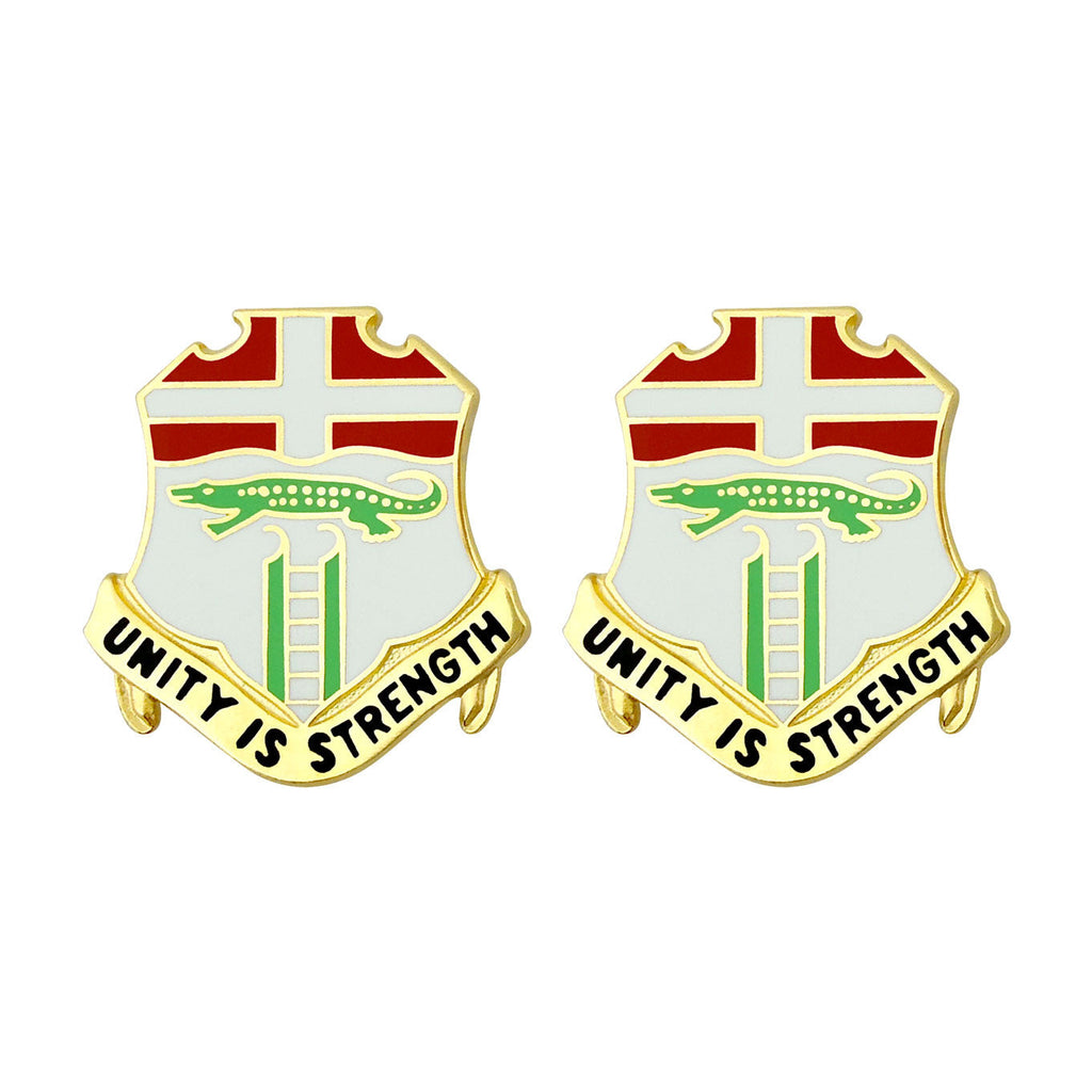 6th Infantry Unit Crest (Unit Is Strength)