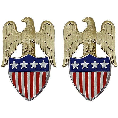 Select Gifts Army Insignia Rank Major General Cufflinks with Pouch