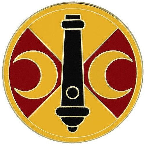 210th Fires Brigade Combat Service Identification Badge
