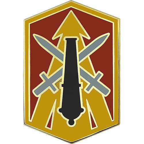 214th Fires Brigade Combat Service Identification Badge
