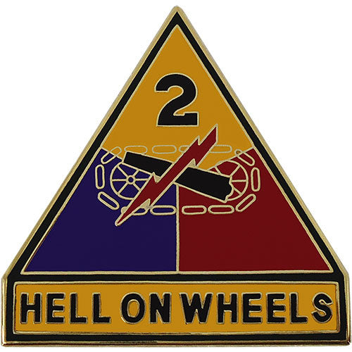 2nd Armored Division Combat Service Identification Badge