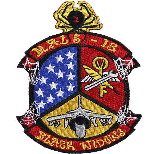 MALS-13 Black Widow Full Color Patch