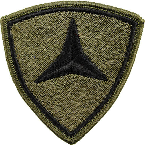 3rd Marine Division Subdued Patch