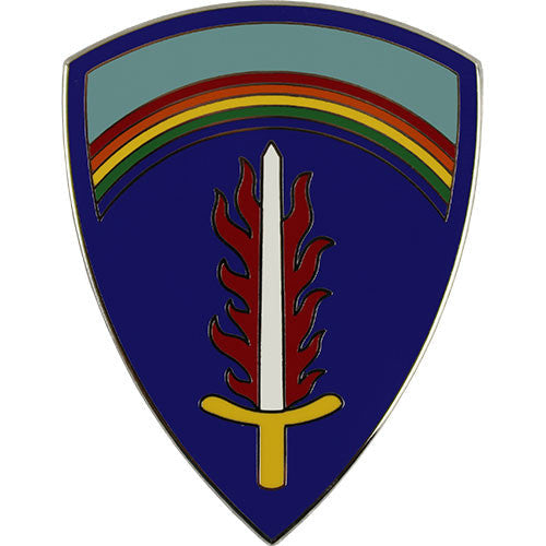 U.S. Army Europe Combat Service Identification Badge