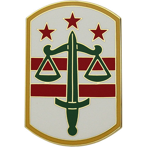 260th Military Police Brigade Combat Service Identification Badge