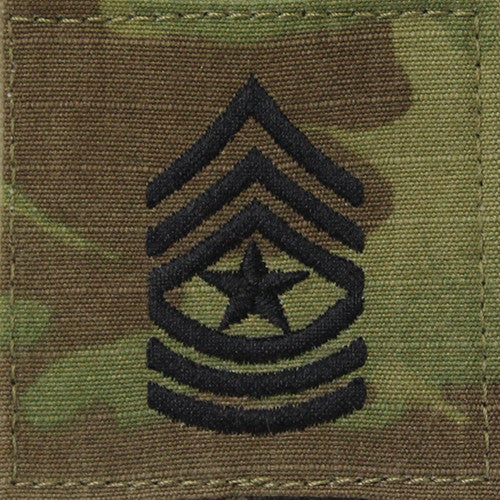 Army Multicam Ocp Rank Usamm