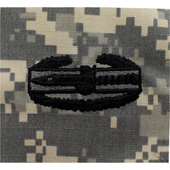 Army Combat Action Embroidered ACU Badge