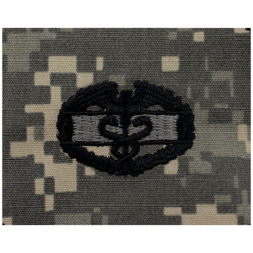 Army Combat Medic Embroidered ACU Badges