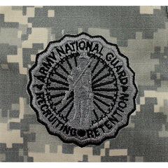 Army National Guard Recruiting and Retention Embroidered ACU Badges