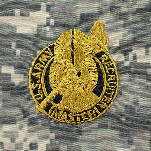 U S Army Master Recruiter Badge Acu Embroidered Usamm
