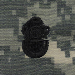Army Diver Embroidered ACU Badges