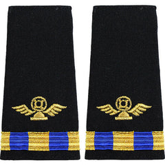 Navy W-3 Soft Shoulder Marks - Air Traffic Control