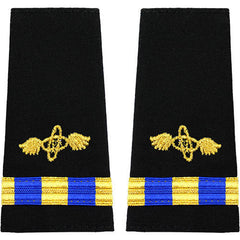 Navy W-3 Soft Shoulder Marks - Aviation Electronics Technician