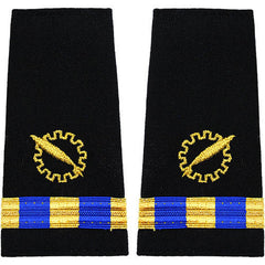 Navy W-3 Soft Shoulder Marks - Data Processing