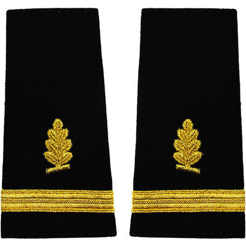 Navy Soft Shoulder Marks - Medical Service