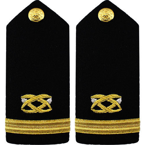 Navy Male Hard Shoulder Board - Civil Engineer