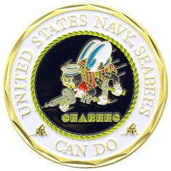 U.S. Navy Seabee Warfare Coin