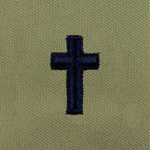 Air Force Christian Chaplain Embroidered Abu Badge Usamm