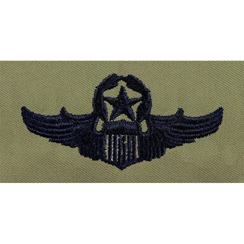 Air Force Pilot Embroidered Abu Badge Usamm