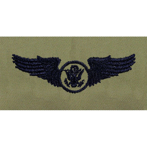 Air Force Aircrew Enlisted Embroidered Badge - Basic