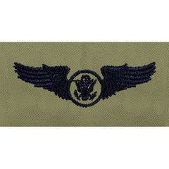 Air Force Aircrew Enlisted Embroidered ABU Badges