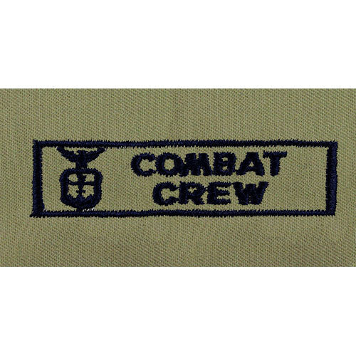 Air Force Combat Crew Embroidered ABU Badge