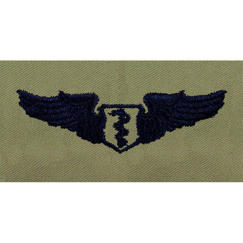 Air Force Flight Surgeon Embroidered Badge - Basic