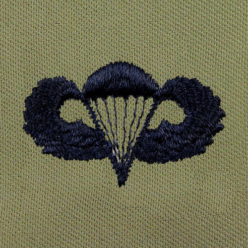 Parachutist Embroidered Badge - Basic