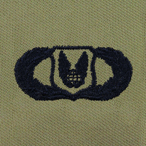 Air Force Operations Support Embroidered Badge - Basic