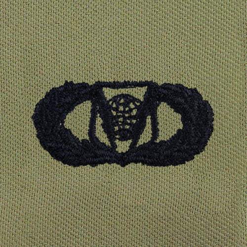 Air Force Command and Control Embroidered ABU Badges