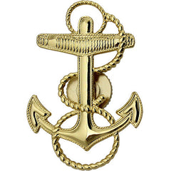 Navy Cap Device Midshipman Screwback