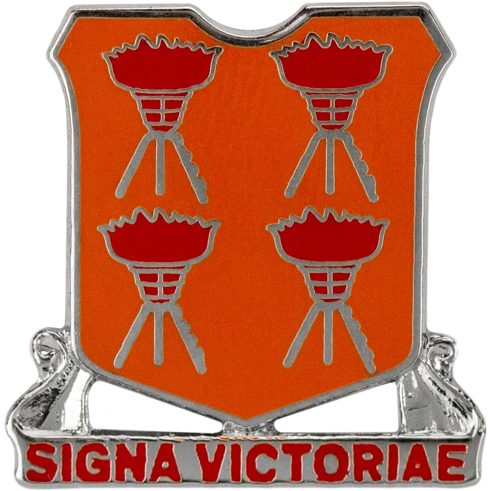 447th Signal Battalion Lapel Pin (Signa Victoriae)