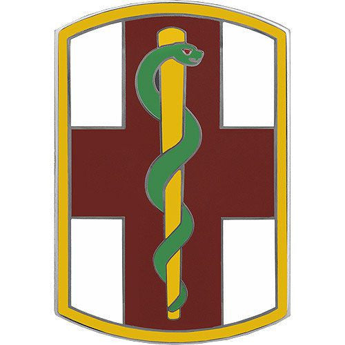 1st Medical Brigade Combat Service Identification Badge