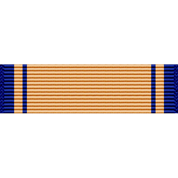 West Virginia National Guard Distinguished Service Medal Thin Ribbon