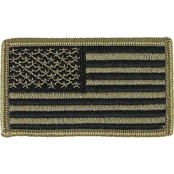 Army OCP/Scorpion US Flag Patch - Forward