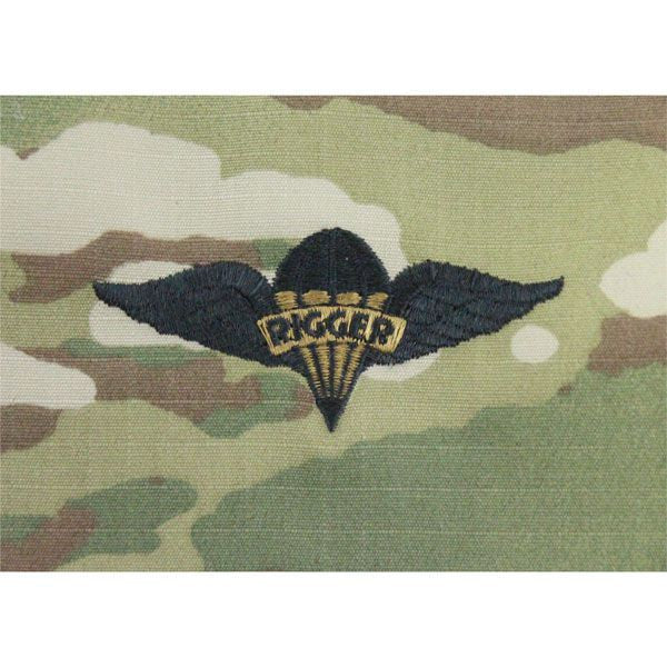 Multicam/Scorpion (OCP) Army Pararigger Embroidered Badge