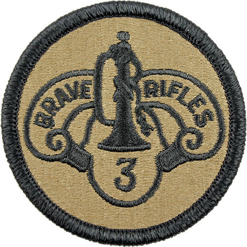 3rd ACR (Armored Cavalry Regiment) MultiCam (OCP) Patch