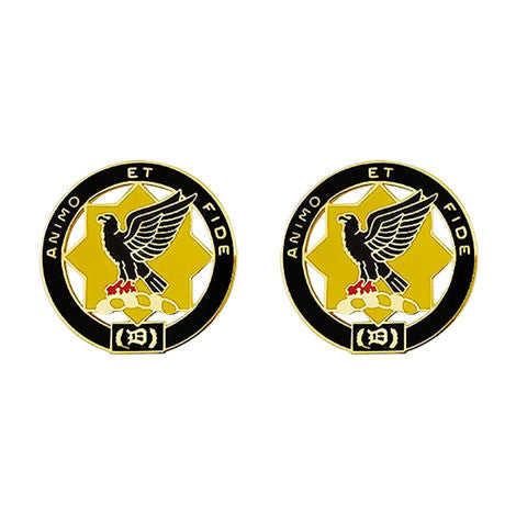 1st Cavalry Regiment Unit Crest (Animo Et Fide)