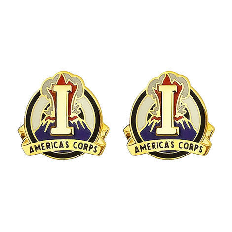 I (1st) Corps Unit Crest (America's Corps)