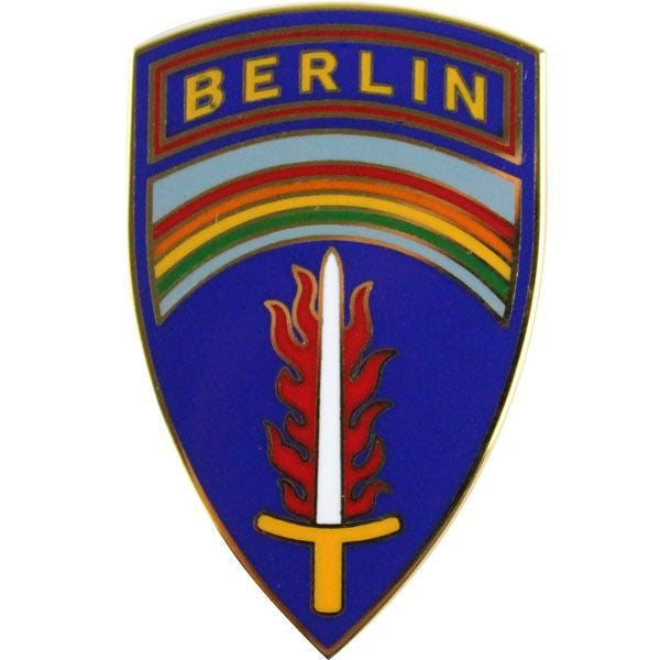 US Army Berlin Command Combat Service Identification Badge