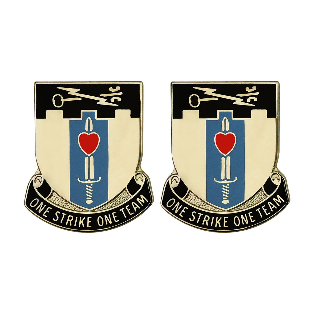 Special Troops Battalion, 2nd Brigade, 101st Airborne Division Unit Crest (One Strike One Team)